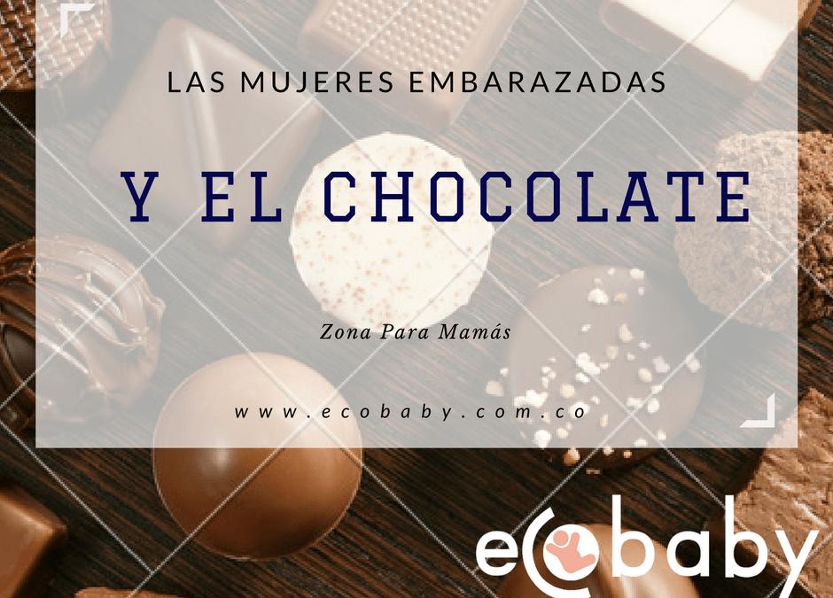 Las mujeres embarazadas y el chocolate