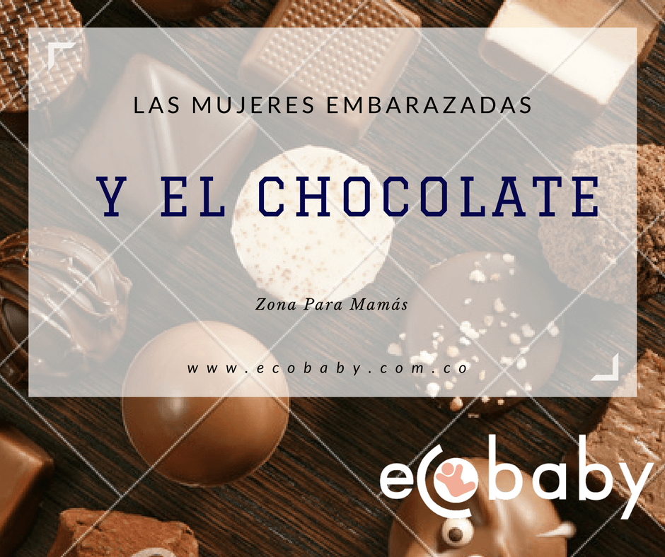 embarazo y chocolate