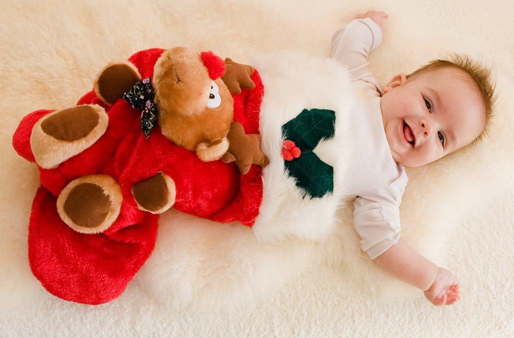 Bebés en navidad