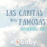 Galeria, las caritas más famosas de este Noviembre 2017