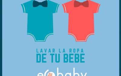 Lavar la ropa tu bebé