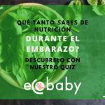 Que tanto sabes de nutricion en el embarazo