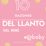10 razones del llanto del bebé